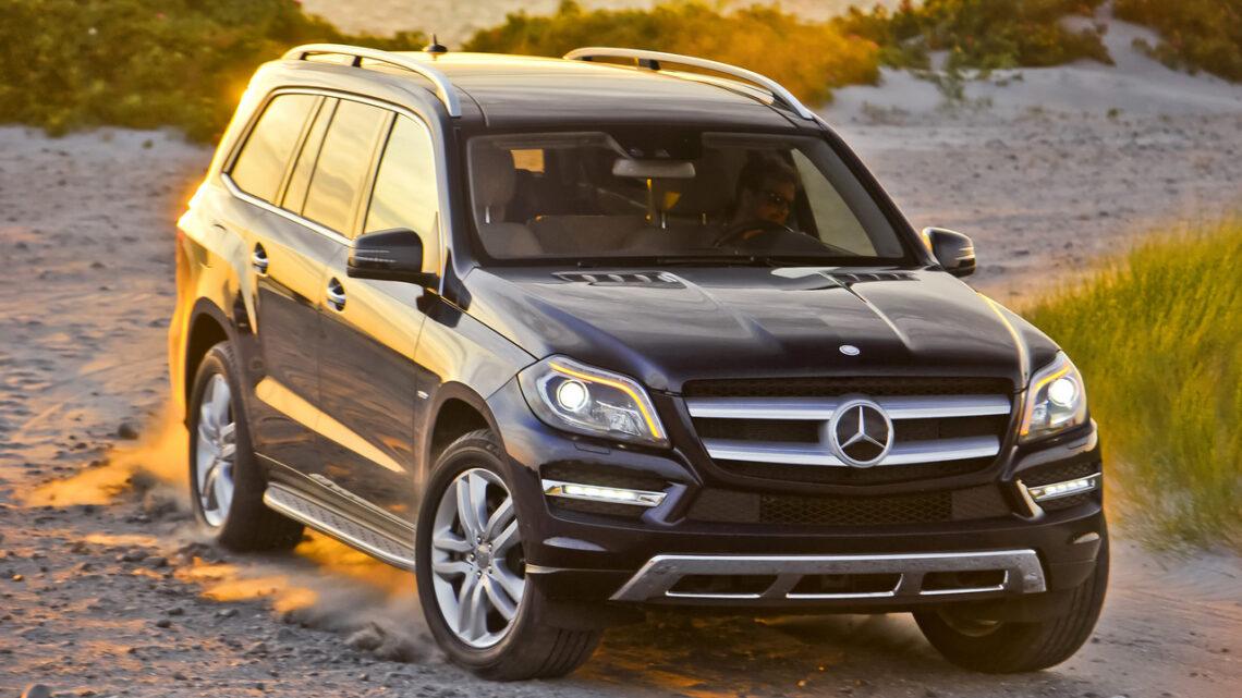 В России отзывают новые Mercedes-Benz GLE