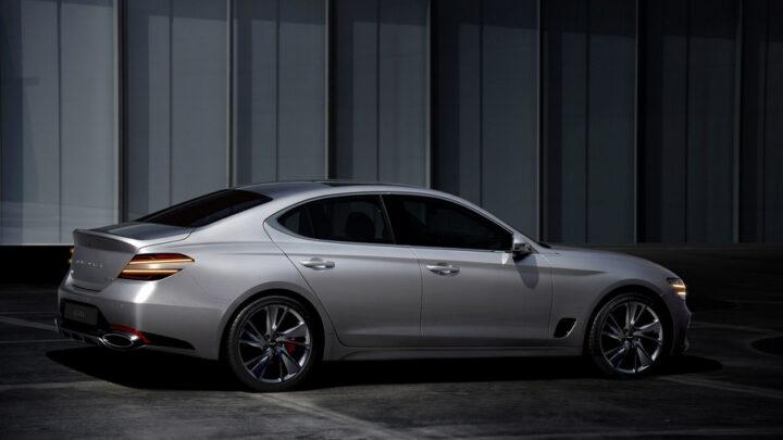 Genesis G70 2021 — плановое обновление роскошного седана